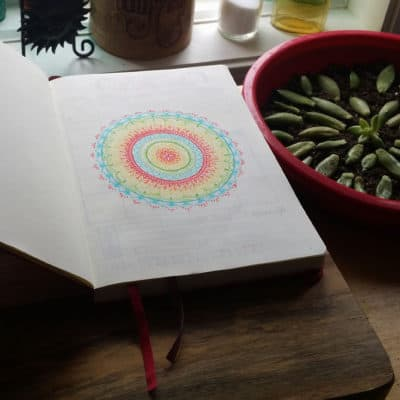 How I Conquered the First Page of my Bullet Journal