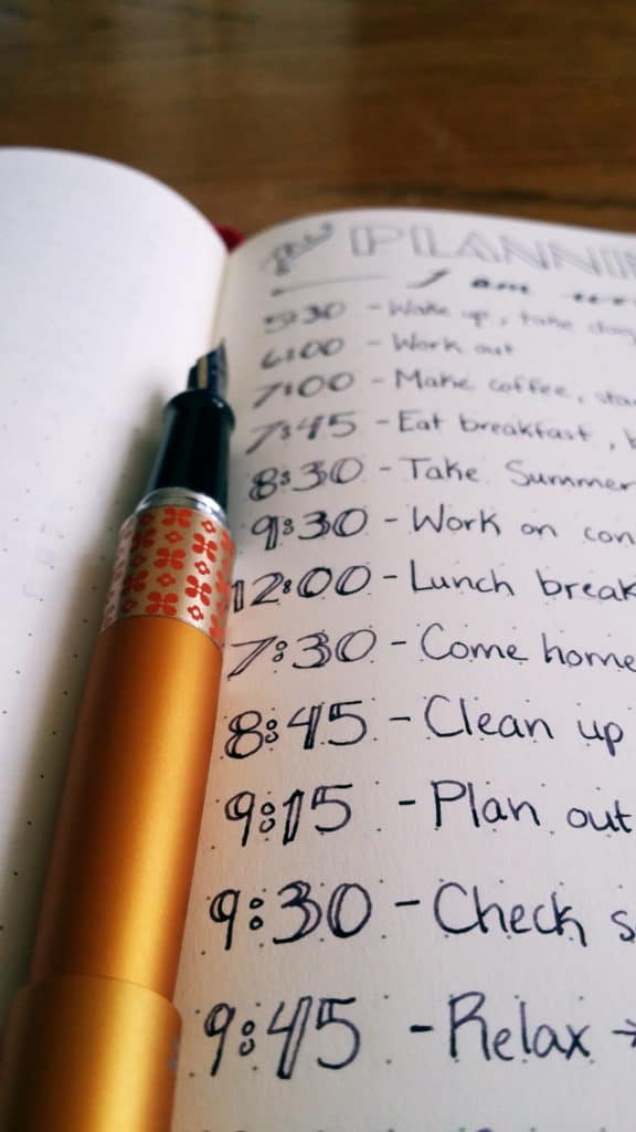 Creating a Planning Routine