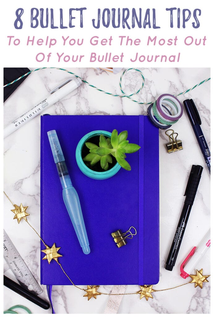 Bullet Journaling Tips Cover Photo & Title Image