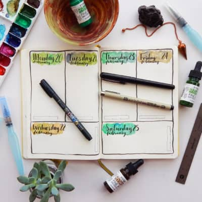 My Best Bullet Journal Supplies