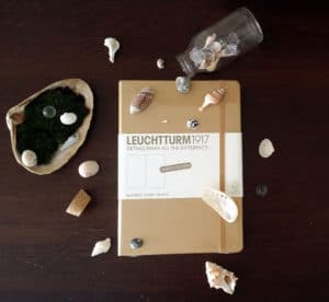 Limited Edition Gold Leuchtturm1917 Giveaway | Littlecoffeefox.com