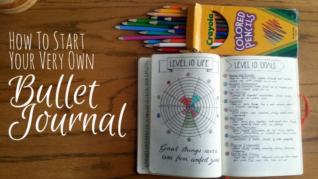 How to Start a Bullet Journal   Littlecoffeefox.com