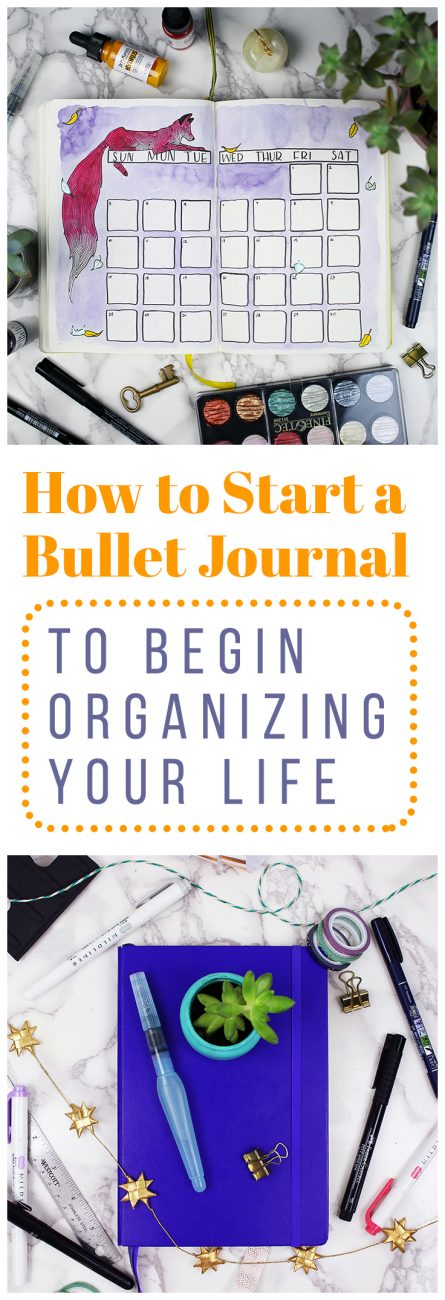Wondering how to start a bullet journal? The Bullet Journal is a great tool for helping to keep you organized while still allowing you the flexibility to show off your creative side if you'd like. The Bullet Journal system helped me organize my life and re-embrace my artistic side. Check out how to start a bullet journal and ramp up your productivity!