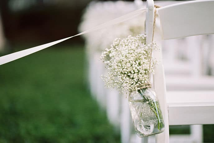 Planning a Wedding in the Bullet Journal Part One: Budget aisle decorations   Littlecoffeefox.com