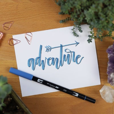 Brush Lettering Tips: 5 Techniques to Instantly Improve Your Lettering