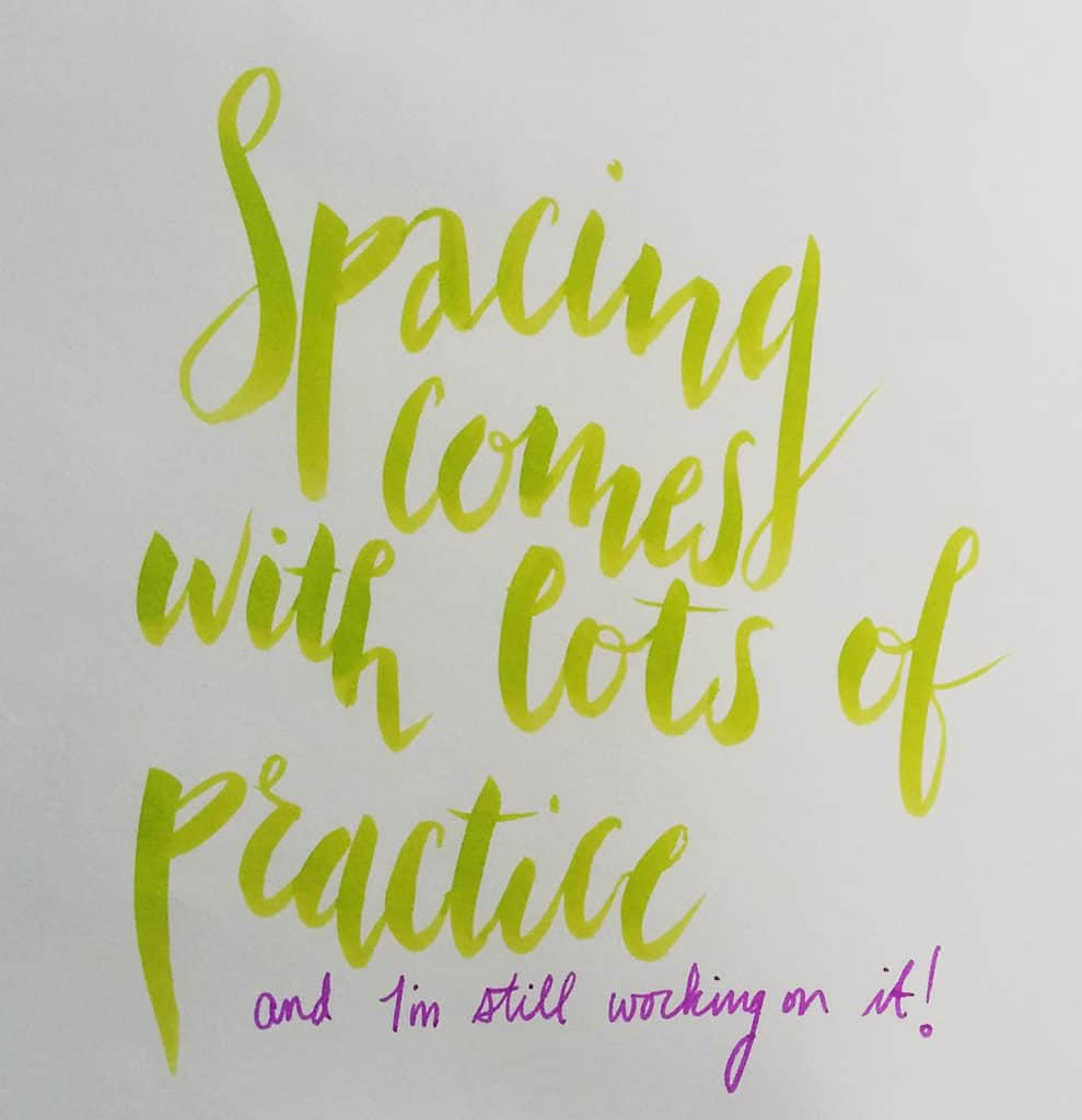 In order to really see a definable style emerge as you begin playing with brush pens, you need to master this one brush lettering technique. What's great is that it is super simple!