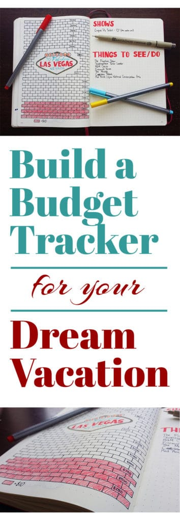 Budgeting is a big step towards planning your unforgettable trip. See how you can easily save up your cash with the help of a simple budget tracker in the bullet journal! Using this technique, I am saving for a fabulous trip to Las Vegas and it's already helped a ton!