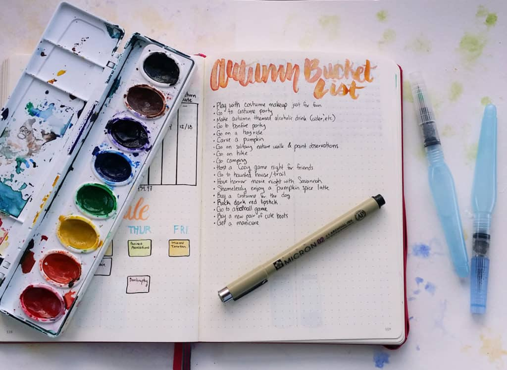 There are amazing things to cherish in every season, so why not embrace that fact? Create an autumn bucket list to encourage yourself to go out and make some memories this fall! What are your favorite autumn activities?