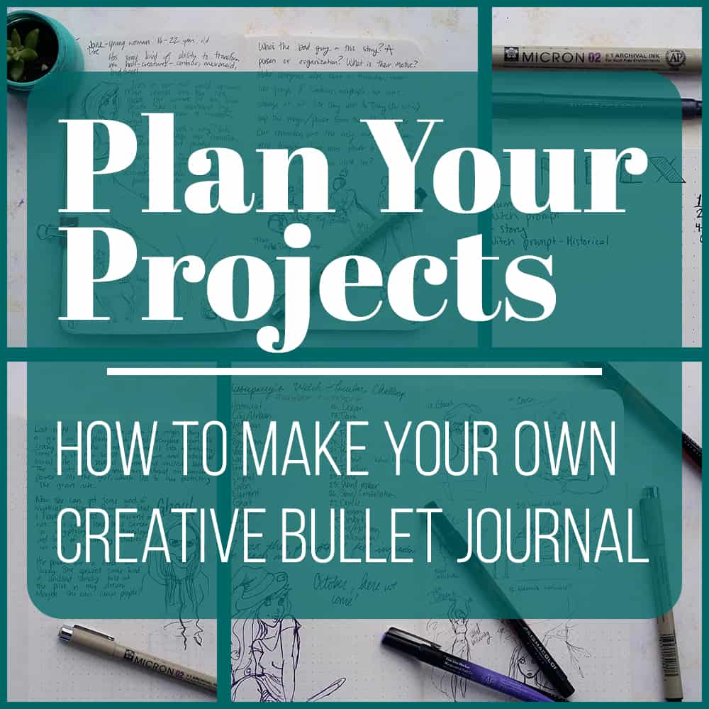 The bullet journal is a great place to plan your daily life and jot down ideas. But I wanted to harness this great system and create a journal that allowed me to collect, dive into, and flesh out ideas. I wanted a devoted place where I can come to work on stories I'm writing or characters I'm building. What I have come up with is the Creative Bullet Journal. In it I can organize and dive into my thoughts about several projects instead of keeping it all in my daily planning bullet journal. Now all my creative works in progress can be safely kept in once place!