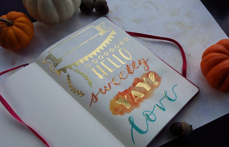 Heat Embossing Techniques – How to Add Golden Flair to Your Journal