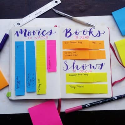 Post-It Note Magic – Build a Flexible Show Tracker in Your Planner