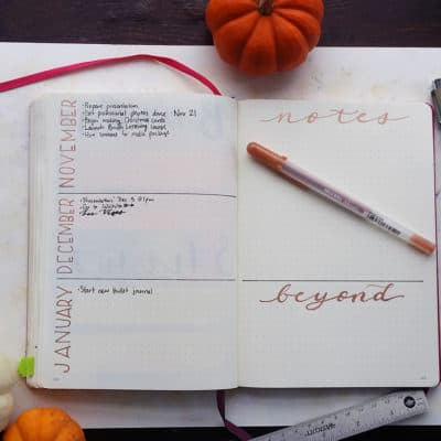 Bullet Journal Future Log – How I Plan for Tomorrow