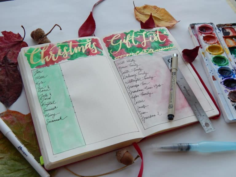 Organized Christmas List – Keep All Your Gift Ideas in One Easy Place!