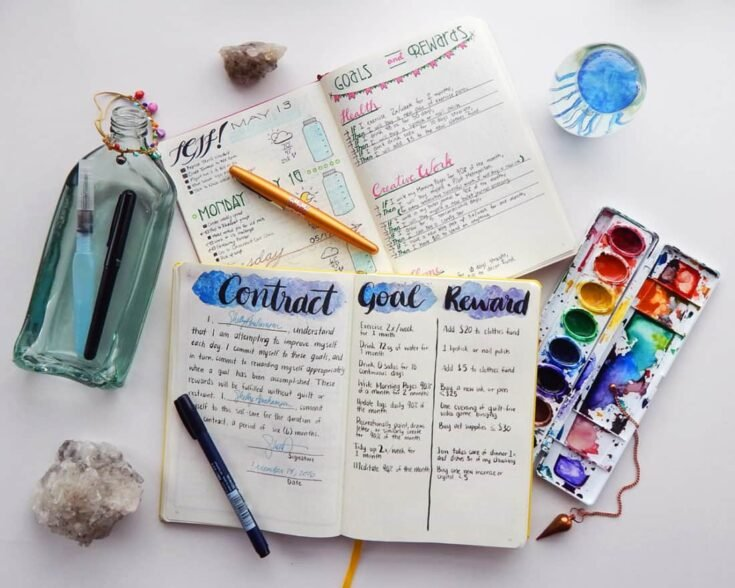 22 Bullet Journal Spreads Everyone Should Try Today