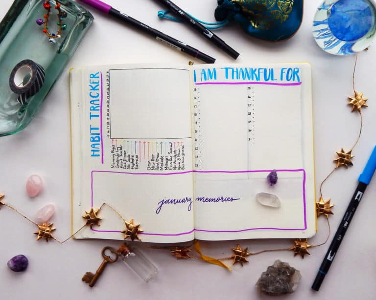 How to Begin Your Bullet Journal in the Middle of a Month (& Deal with Other Anxieties)