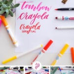 Crayola Calligraphy Pin & Cover Photo