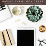 flay lay photograph with text How to Take a Flat Lay Picture, Fet our Handy Tips for Making Them Look Great