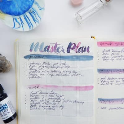 Setting Goals You Can Keep by Creating a Master Plan