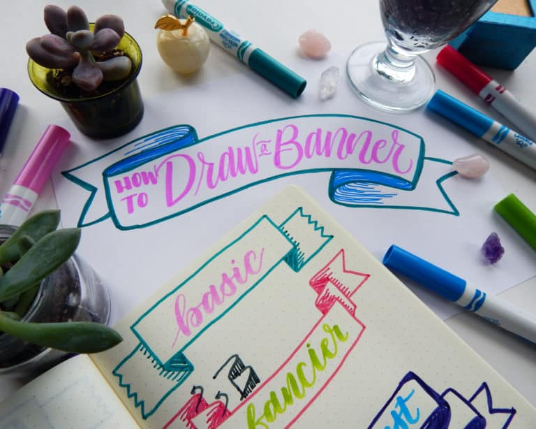 How to Draw a Banner – 3 Simple Banners to Jazz Up Your Work