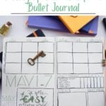 image of block schedule spread in bullet journal with text Stay on Top of Your To-Do List Weekly Spread Ideas for Your Bullet Journal