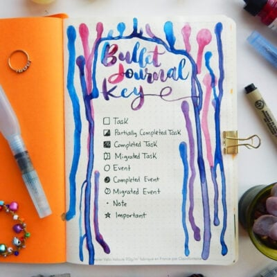 The Bullet Journal Key (5 Tips To Help You Create Yours)