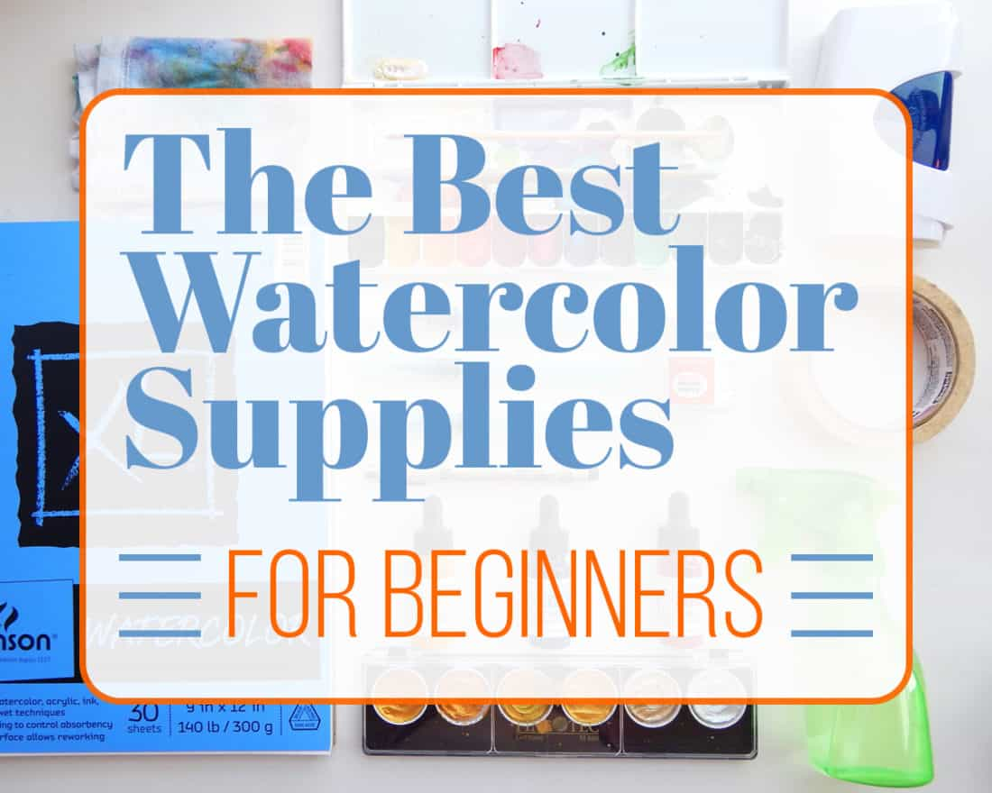 the best watercolor supplies for beginners what you need to start