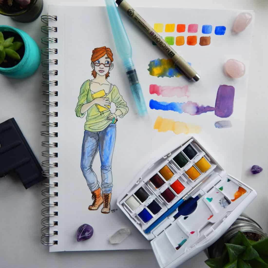 The Best Watercolor Supplies for Beginners - What You Need to Start