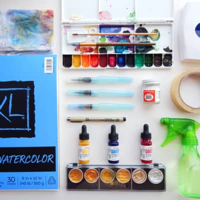 The Best Watercolor Supplies for Beginners – What You Need to Start
