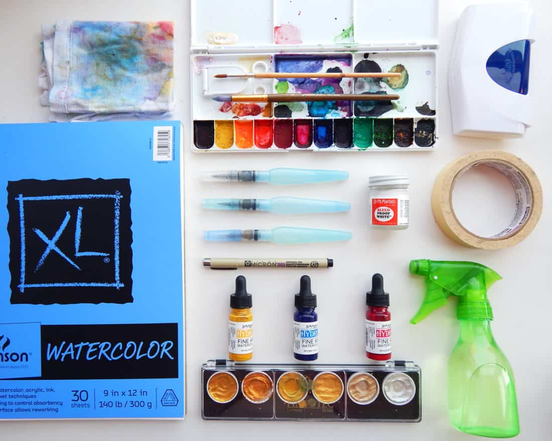 The best watercolor supplies for beginners what you need for Watercolor supplies for beginners