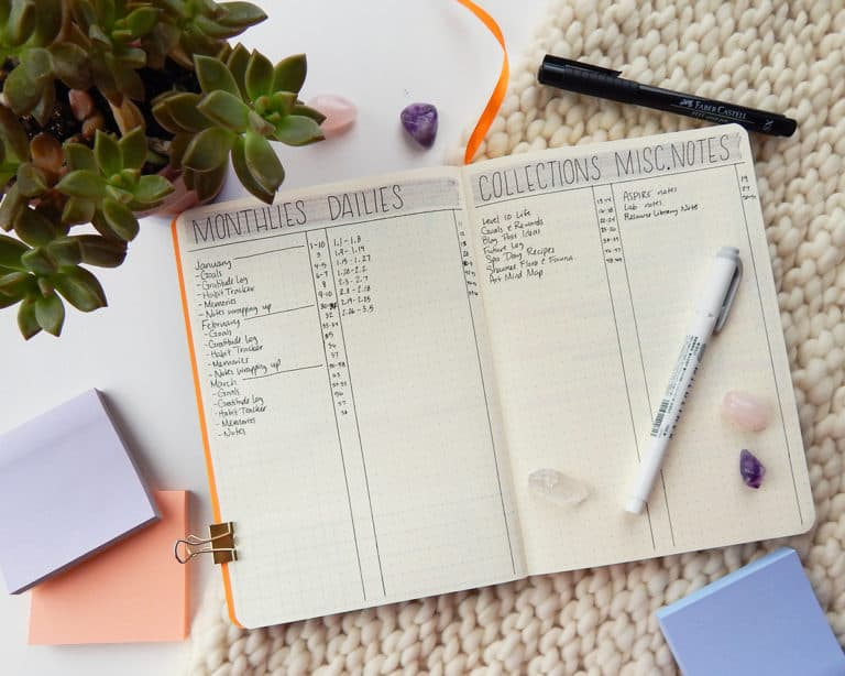 11 Bullet Journal Hacks & Tricks to Take Your Planning to the Next Level