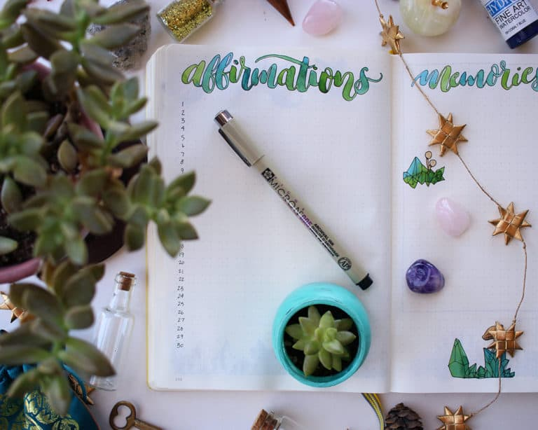 7 Reasons You Should Start A Bullet Journal in 2021