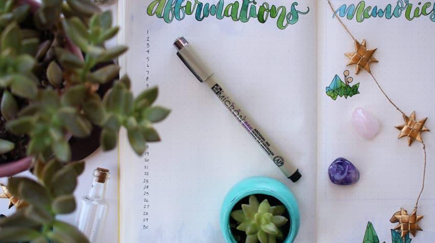 affirmations log