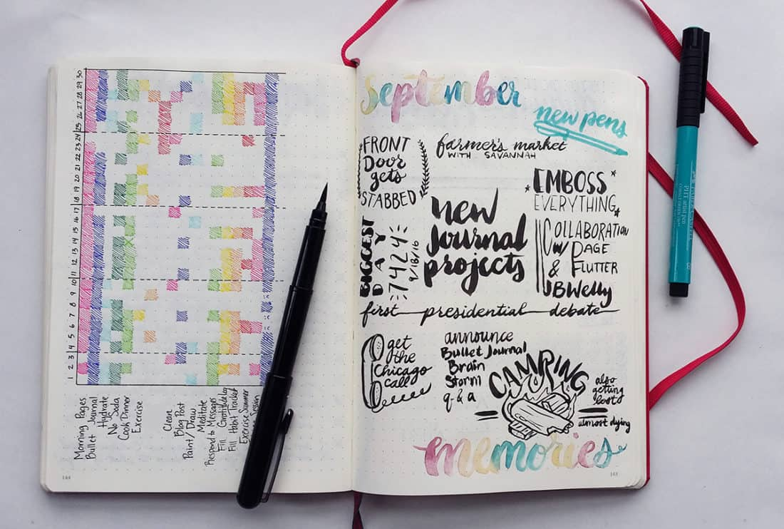 15 bullet journal collections you definitely need to try