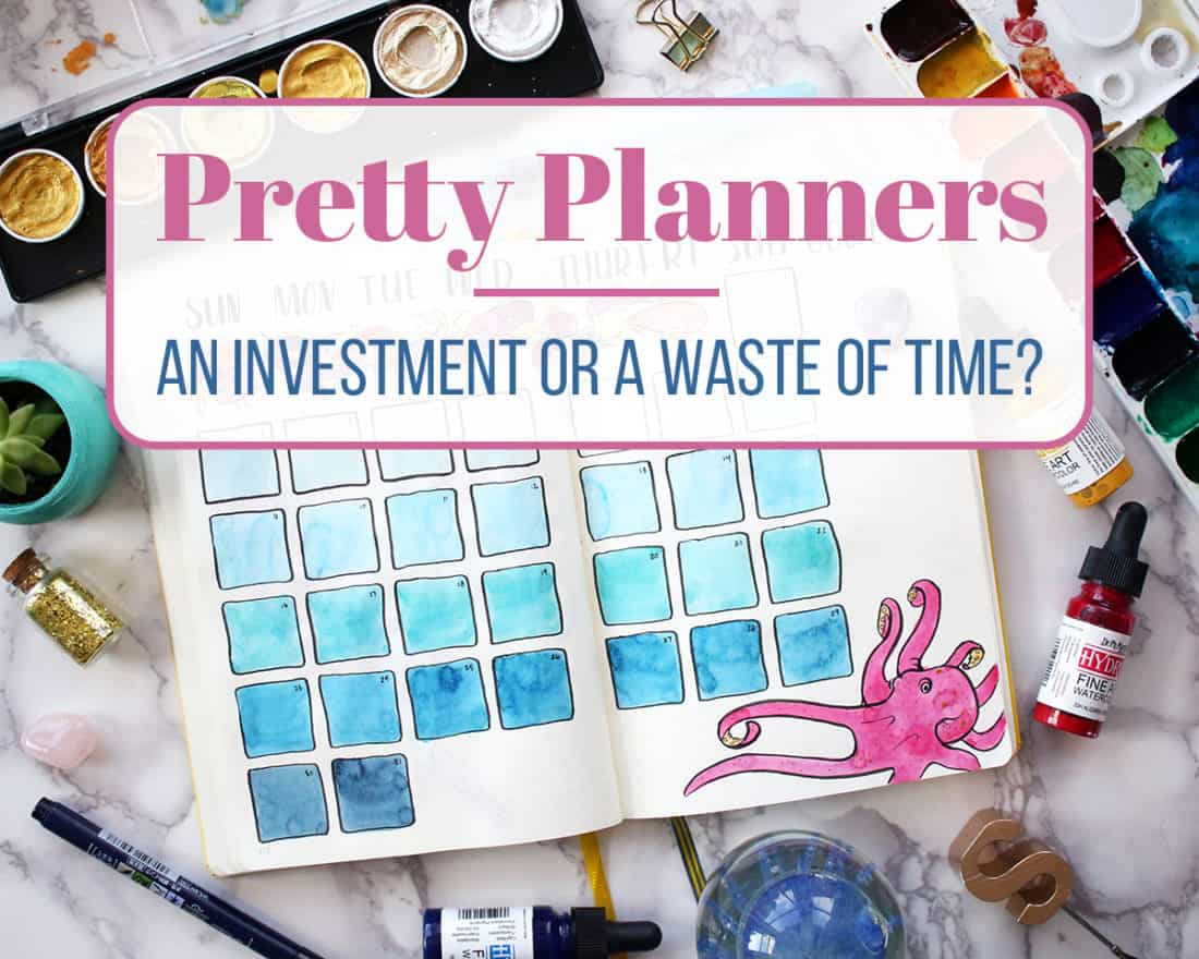 In the planning community, pretty planners are everywhere. Beautiful art, enticing designs, creative layouts... you name it. But why put all that time into making a planner pretty? I'll give you a hint - it's not all about getting likes on social media. There's actually a very good reason!