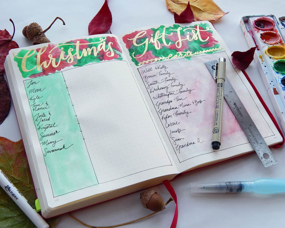 The Long Game Christmas Gift List. This handy bullet journal ...