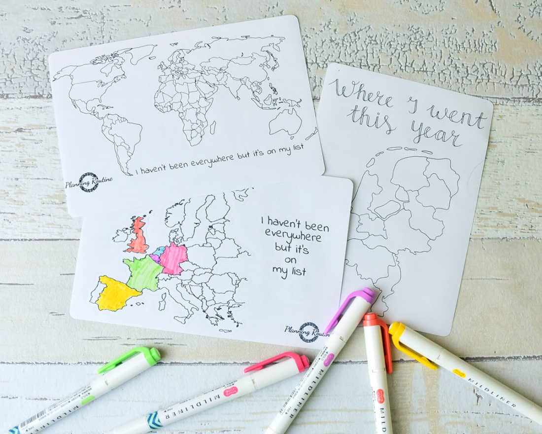 I love traveling. I love meeting new people, discovering new cultures, experiencing the natural beauty of the world. And there's no better way to plan the next trip or remember the last one than with a travel tracker in my bullet journal!