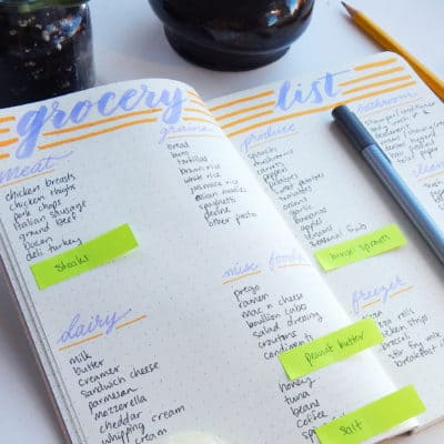 The bullet journal is a blank canvas, full of limitless potential. It can be hard to know where to begin! Here are 15 bullet journal collections to get your creative juices flowing and get you feeling inspired!