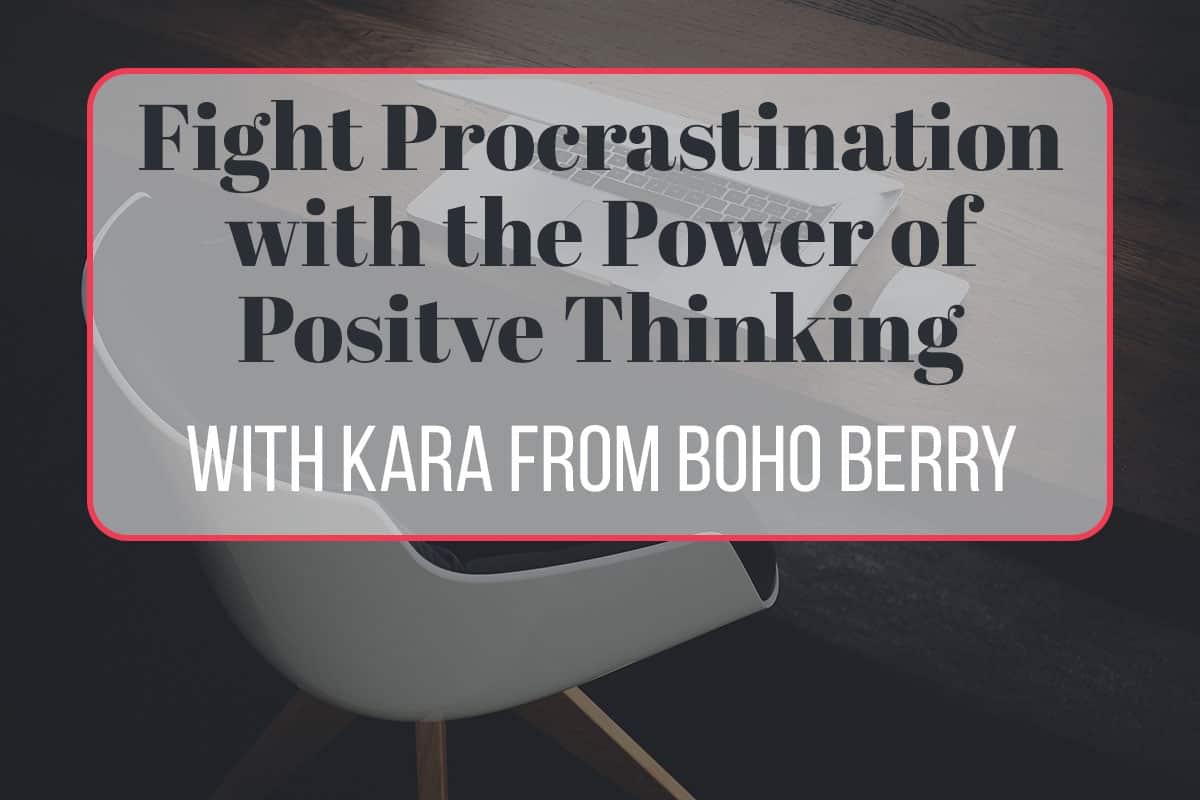 How to Fight Procrastination forecasting