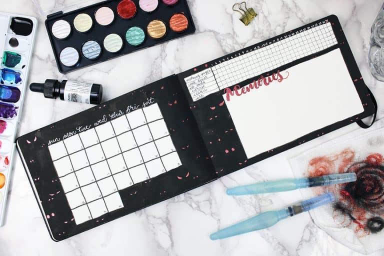 23 October Bullet Journals To Have A Spooky Good Time