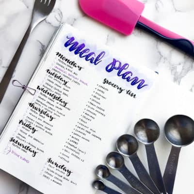 Meal Planning in Your Bullet Journal with Alex of @Misfit.Plans