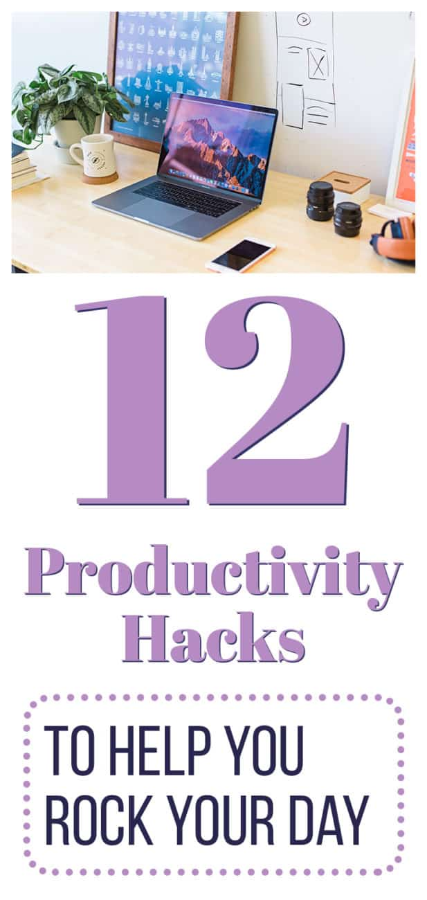 After many years of struggling with procrastination and my own work ethic, here are 12 productivity hacks that actually worked for me!