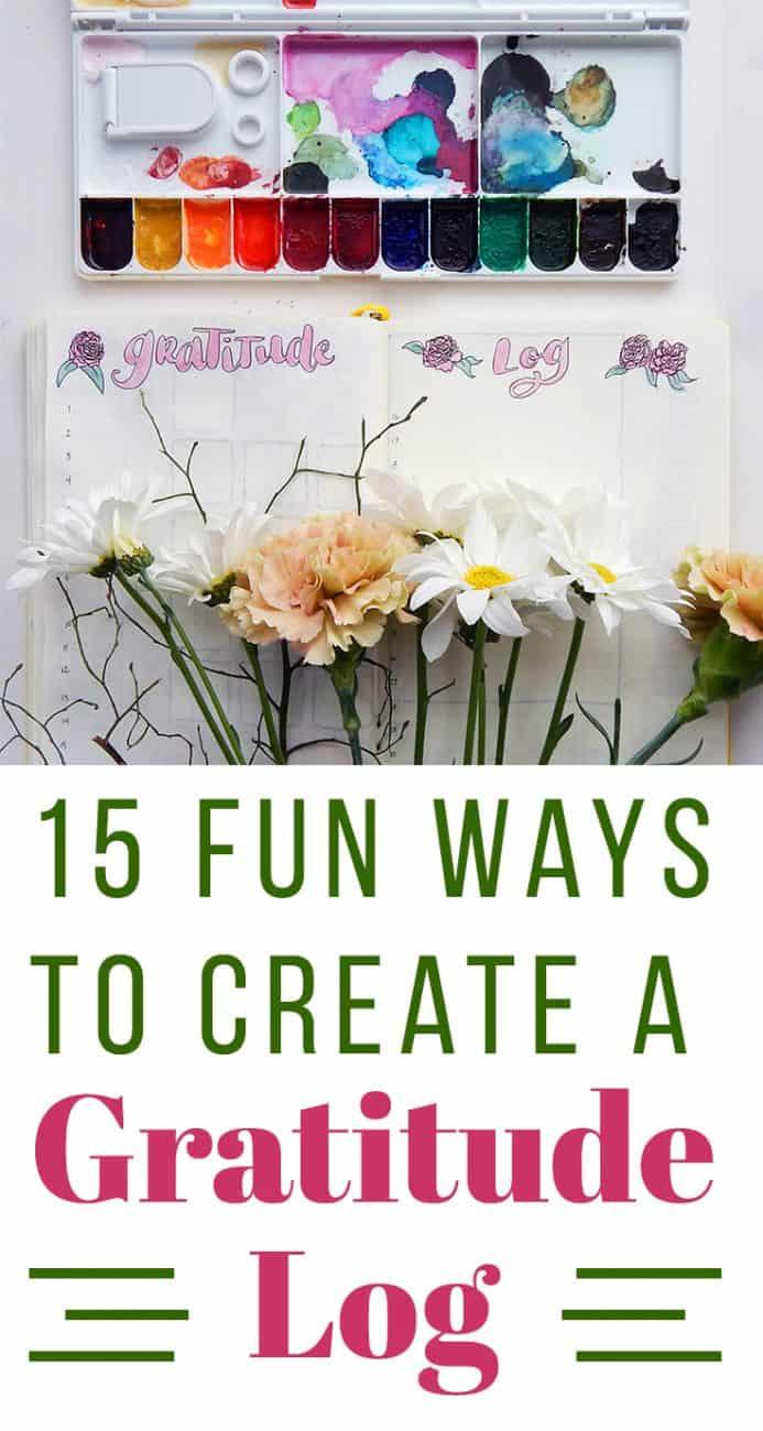 Create a Gratitude Log
