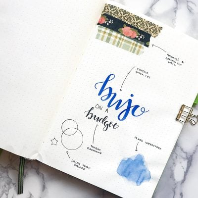 Cheap Bullet Journal Supplies Under $5 – More Bujo for Your Buck