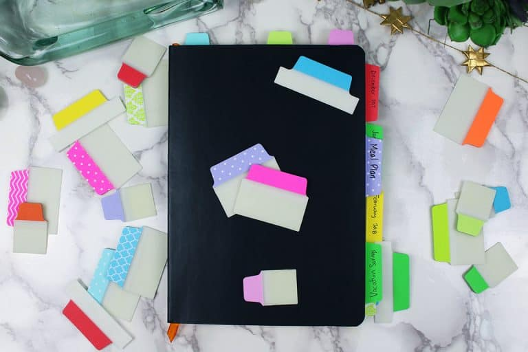 5 Ways to Use Tabs to Organize Your Bullet Journal