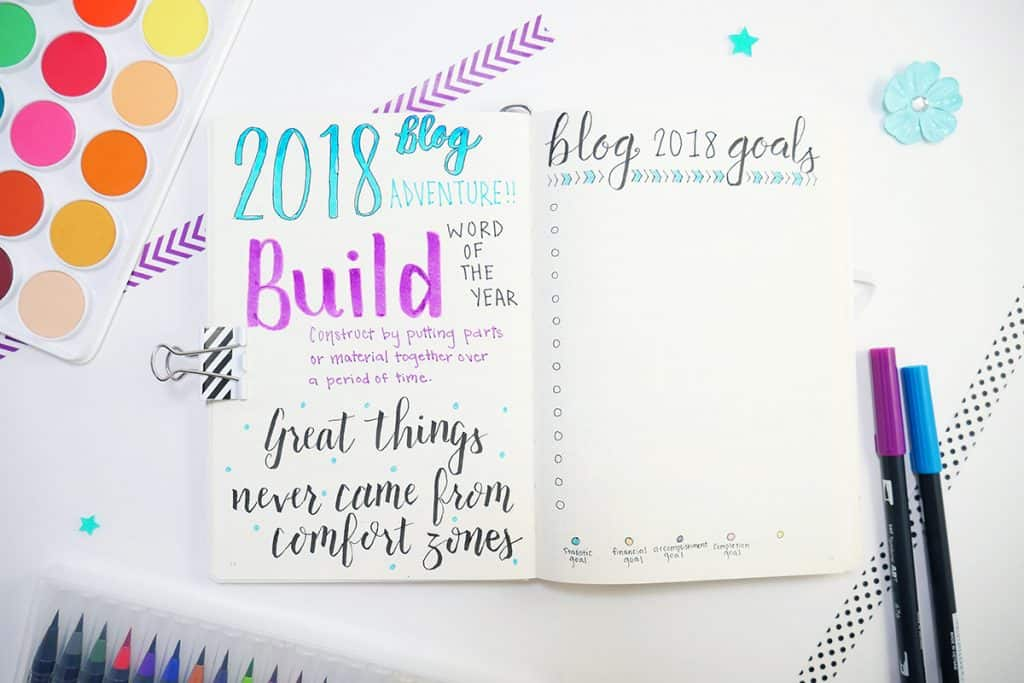 Planner goals page