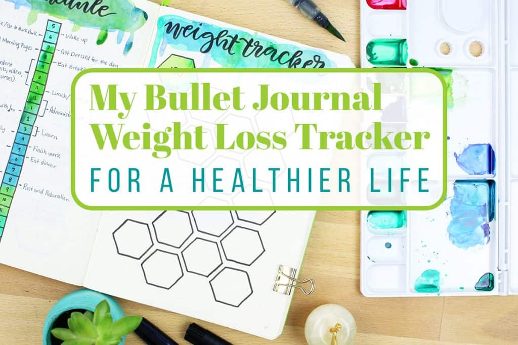 Bullet journal weight tracking