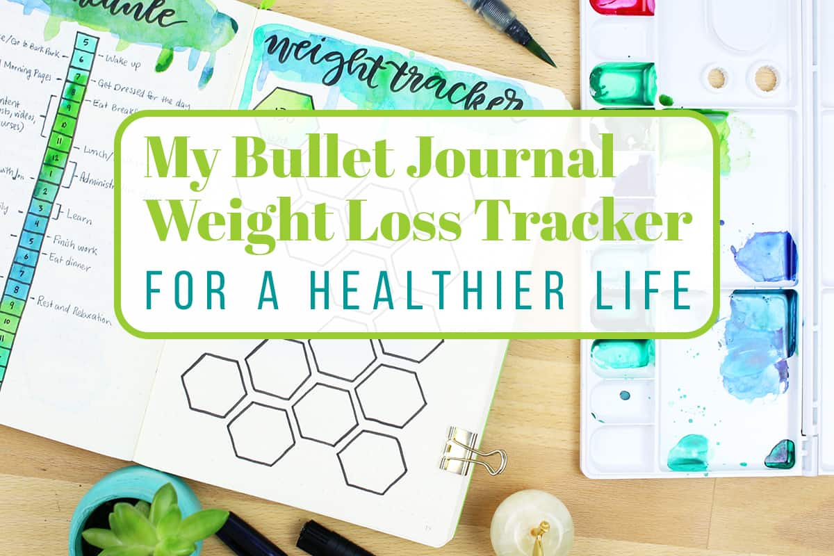 Decisive image throughout bullet journal weight loss tracker printable