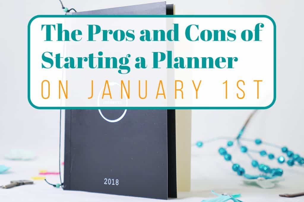 Starting a Planner on January 1st