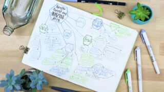 Mind Mapping Your Way to an Amazing New Year
