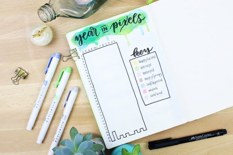 A Year in Pixels – The Ultimate Mood Tracker